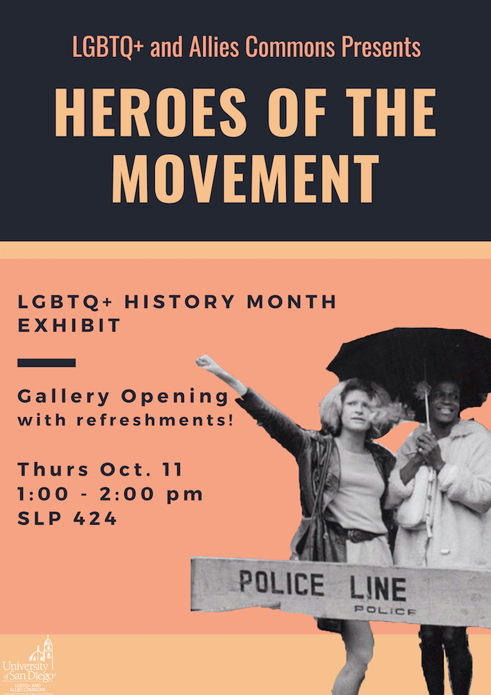 LGBTQ+ History Month Exhibit