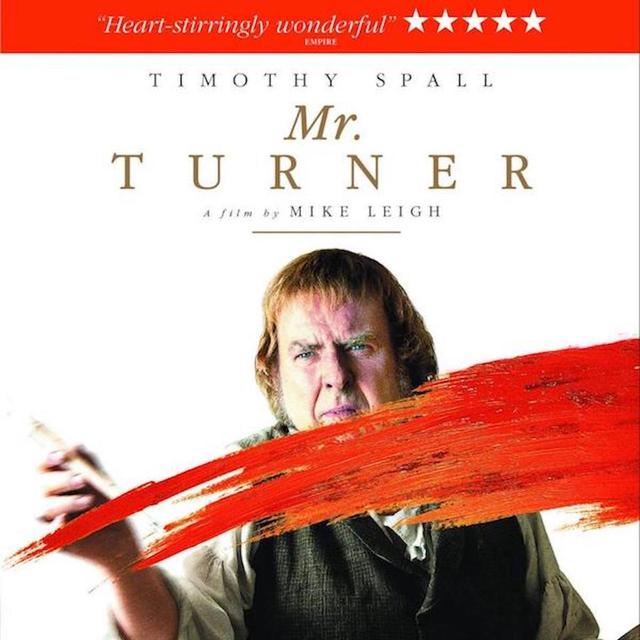 cover of DVD of Mr. Turner