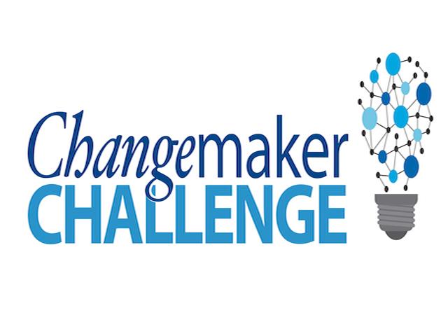 Changemaker Logo with lightbulb