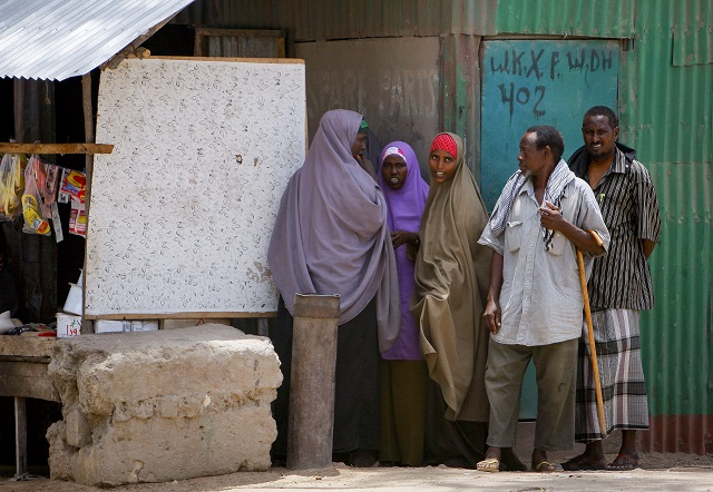 Market in Southern Somalia's Kismayo (UN Photo/Stuart Price)