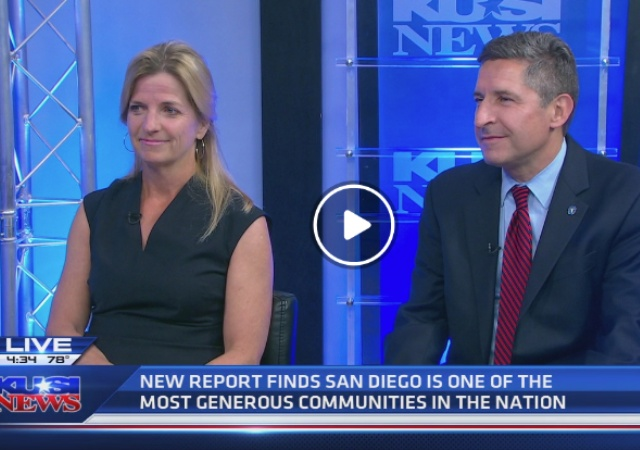 Emily Young on KUSI News with The San Diego Foundation CEO, Mark Stuart