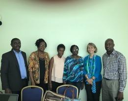 OI Education Specialists:  Kofi, Doris, Shula, Mina, 'Prof Paula' and Samuel