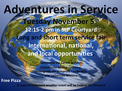 Adventures in Service Poster