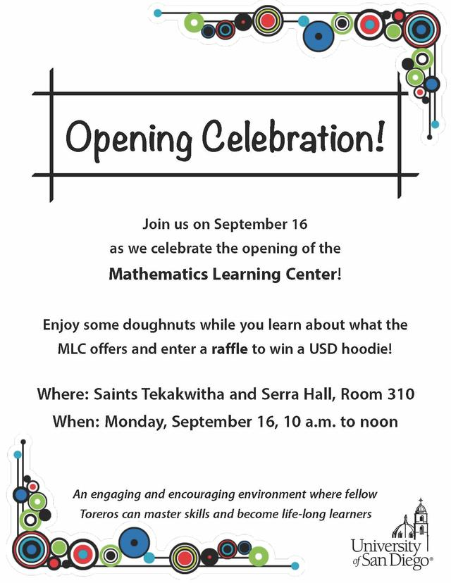 MLC Opening Celebration