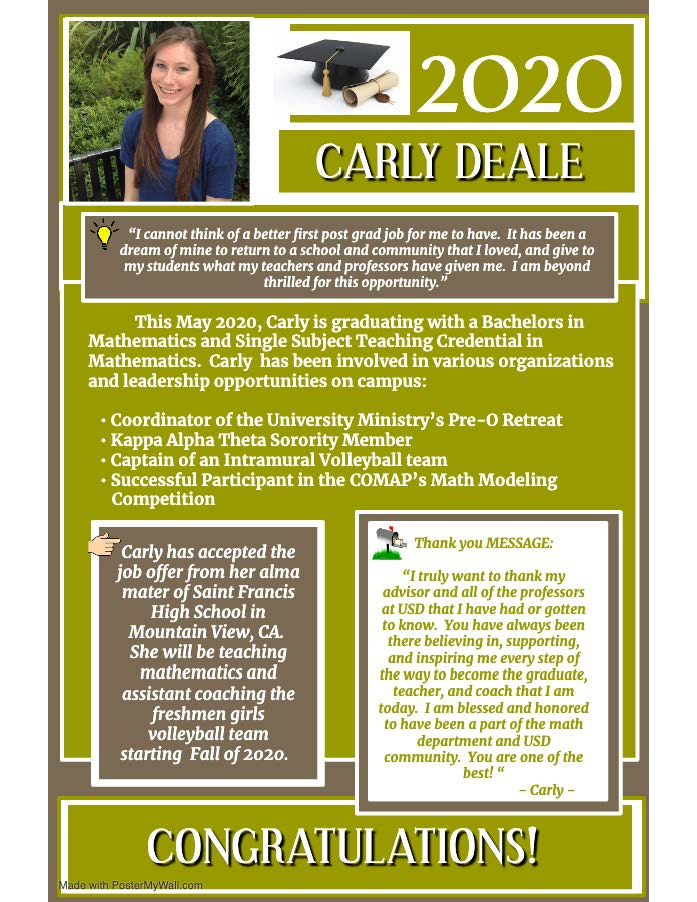 Carly Deale Flyer
