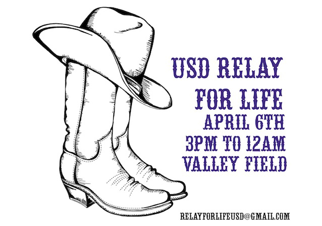 USD Relay for Life Flyer
