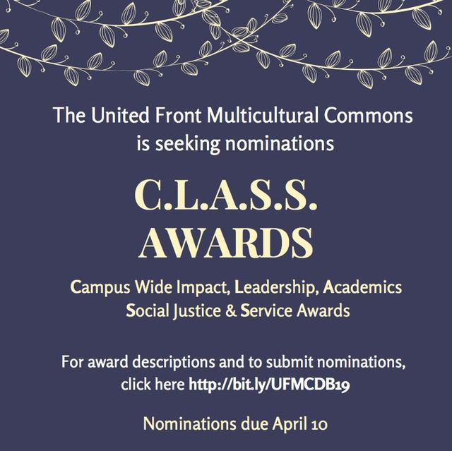 C.L.A.S.S. Awards flyer