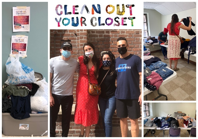 CLS Clothing Drive Collage