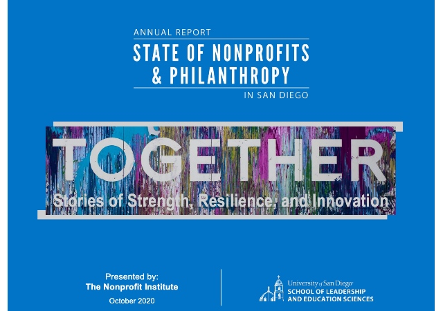 2020 State of Nonprofits & Philanthropy Report cover