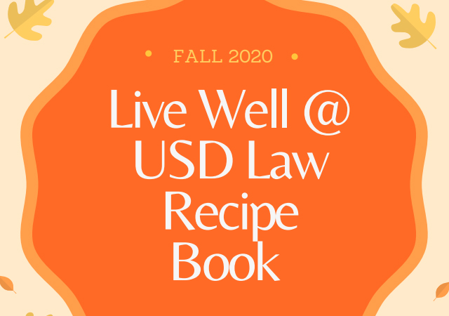 Fall 2020 Recipe Book