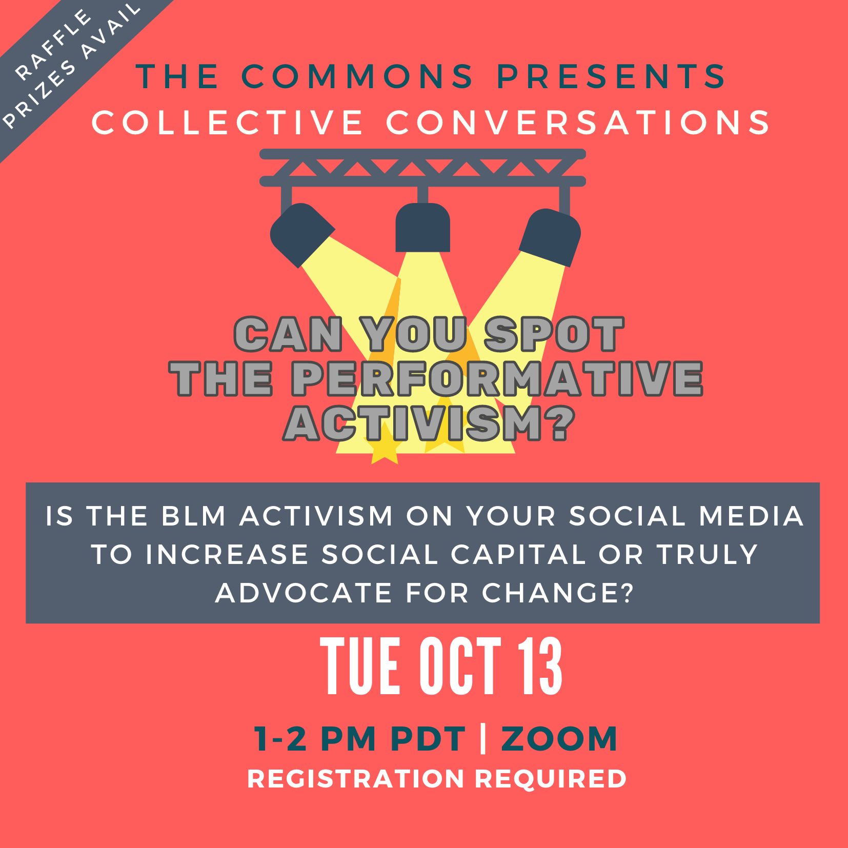 Flyer for Collective Conversations