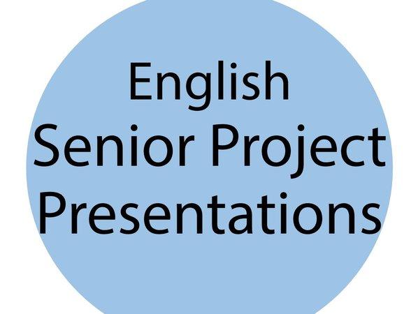 Senior Project flyer