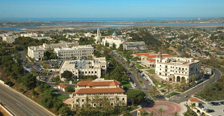 Improving three spots to 86th in the 2017 U.S. News and World Report's Best College Rankings, USD is the youngest private university on the list of Best National Universities.