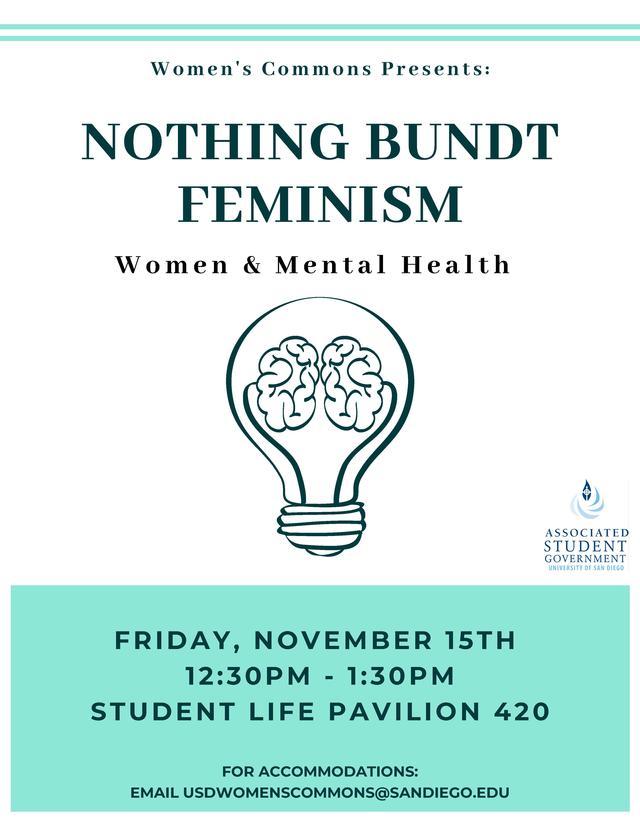 Nothing Bundt Feminism