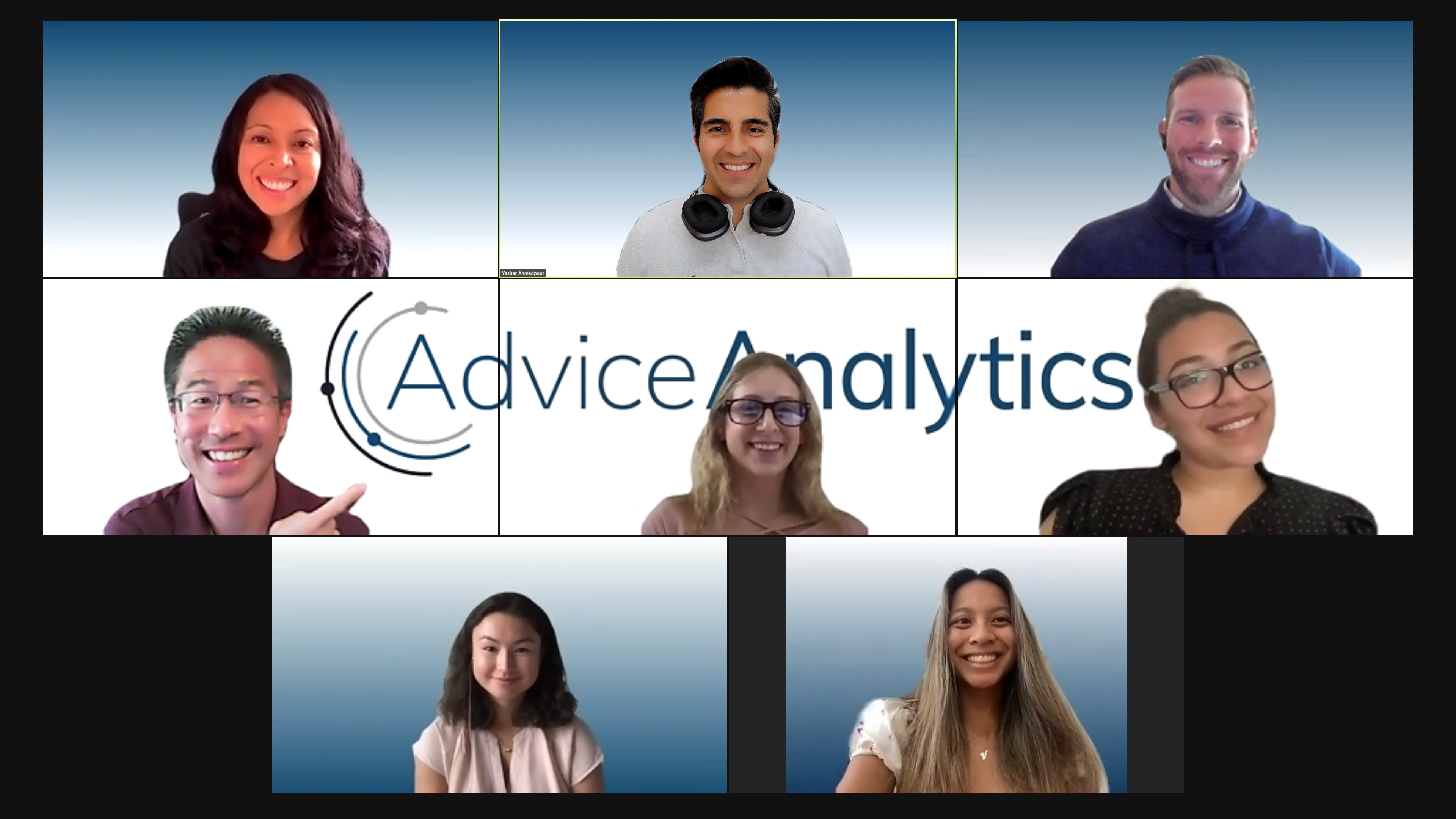 Photo of Advice Analytics team