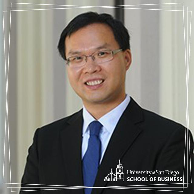 USD Professor of Finance Phil Zhu
