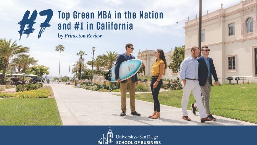 USD MBA Program Ranks Among Top Green Programs In US Flyer