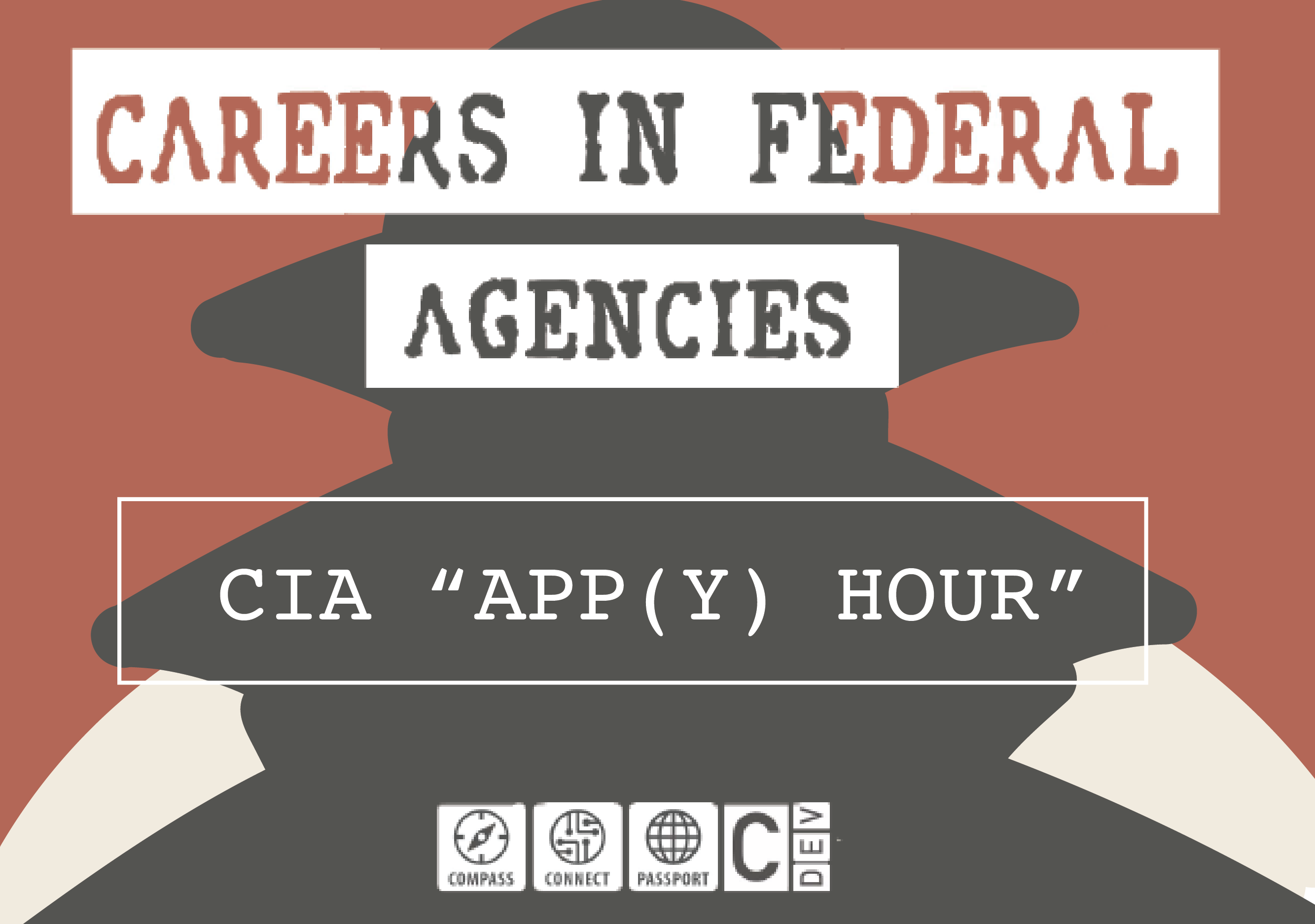 """CIA """"App(y) Hour"""" Event Flyer"""