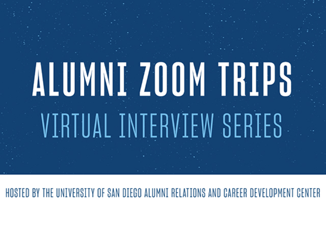 Alumni Zoom Trips - Virtual Interview Series