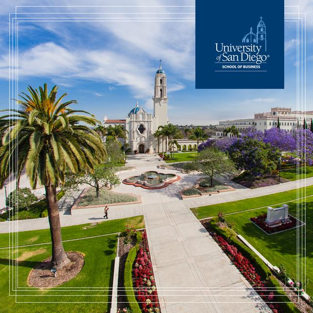 University of San Diego School of Business campus - Offering One of the Best MBA Programs in the USA