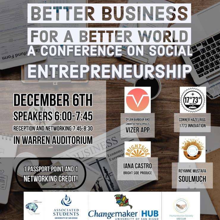 Better Business for a Better World Flyer