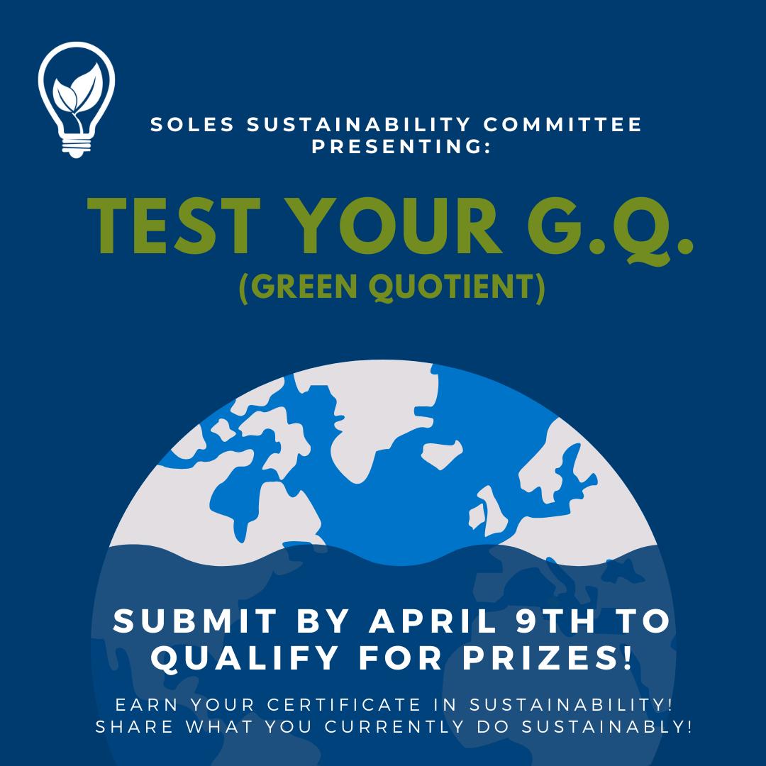 Test your G.Q.  flyer
