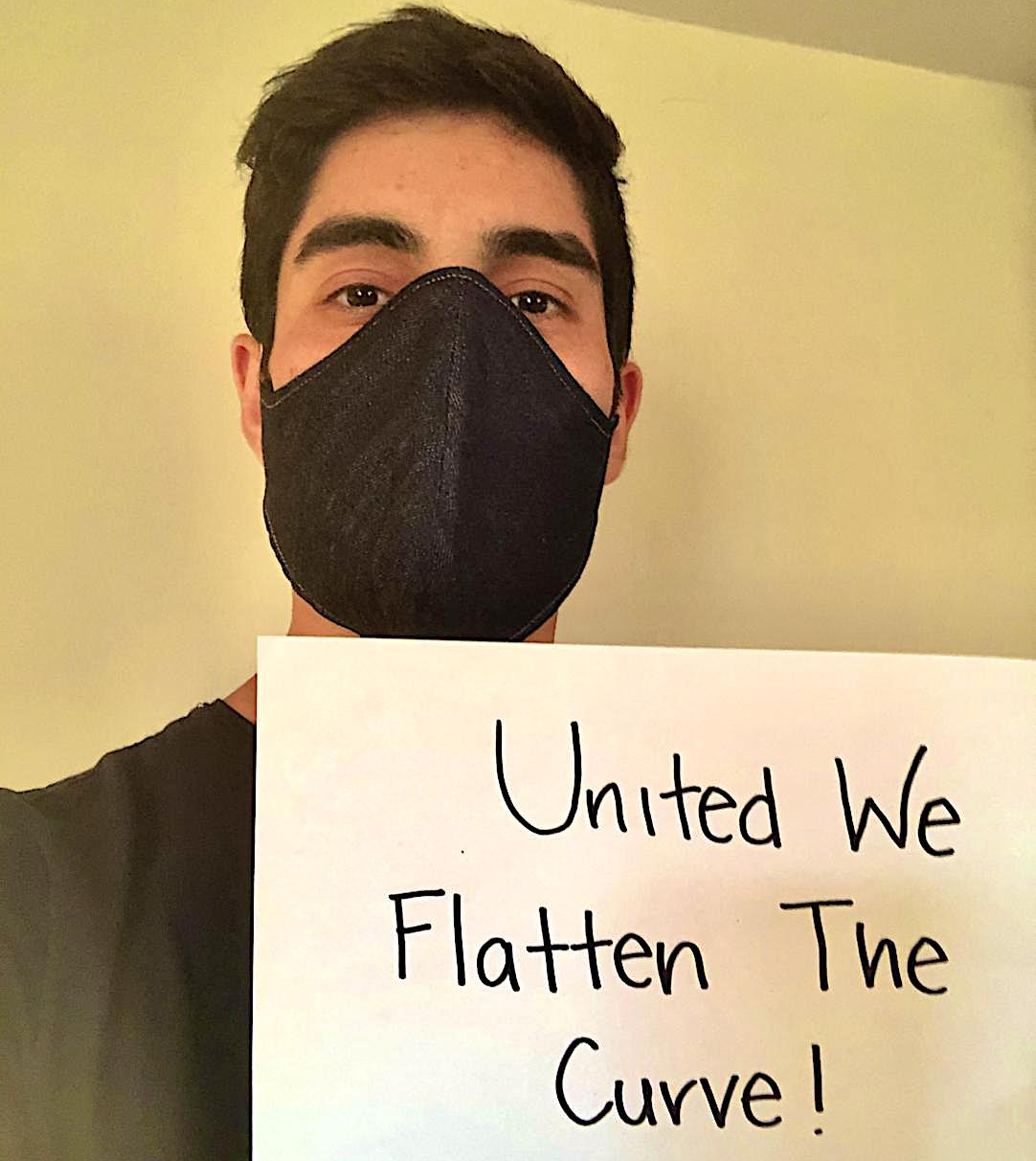 Engineering student Eric Estrada was able to get 80 face masks made and donated to members of the San Diego Blind Community Center during the COVID-19 pandemic.