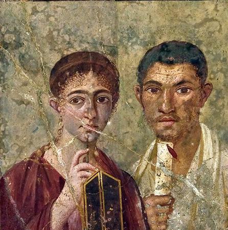 a Graeco-Roman couple