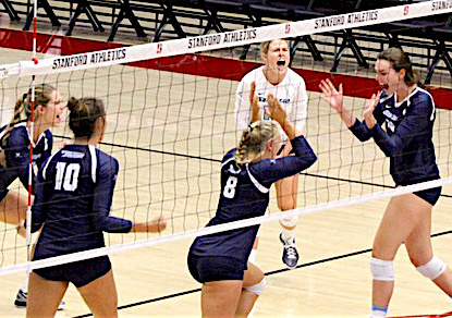USD Women's Volleyball vs. Stanford