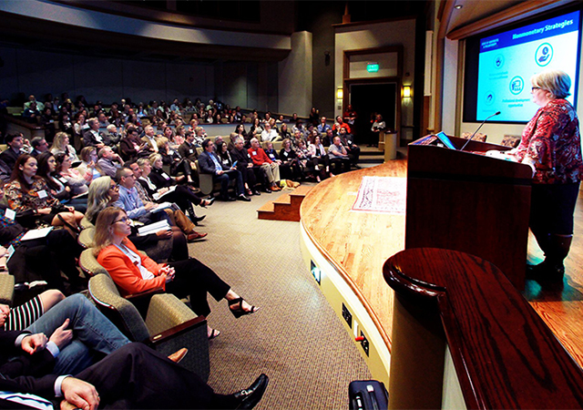 The Nonprofit Institute's annual Nonprofit Governance Symposium is Jan. 23-24 and brings more than 400 nonprofit board professionals to campus to learn best practices.