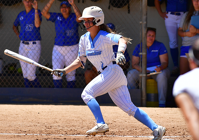Taylor Spence swings bat