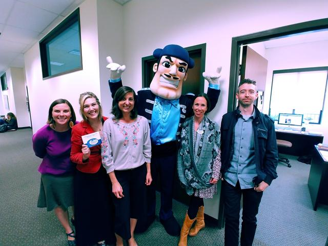 Kroc School Employees with Diego Torero