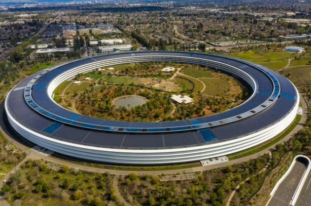 Apple's headquarter building