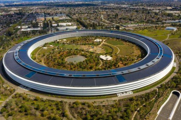 Apple's headquarter building