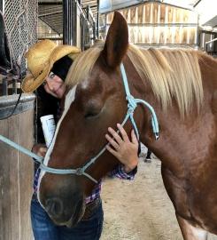 Erin Bolivar with Horse
