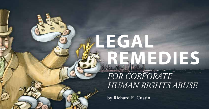 Legal Remedies For Corporate Abuses of Human Rights