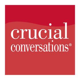 Crucial Conversations logo.