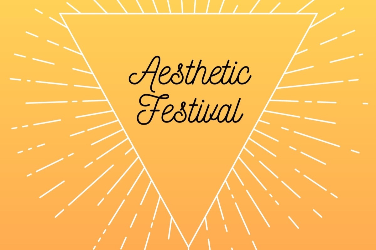 Logo for the Aesthetic Festival