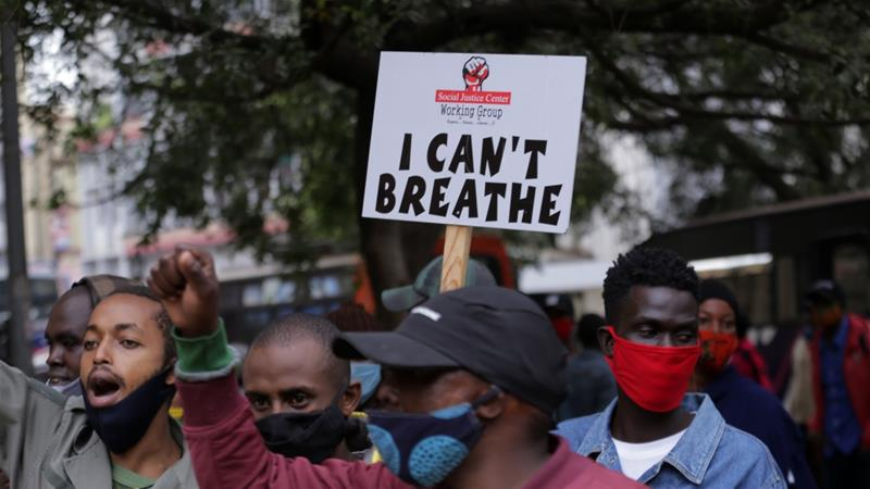 Protest in Kenya