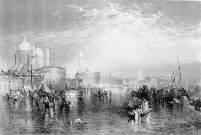 Landscape portrait by Ruskin