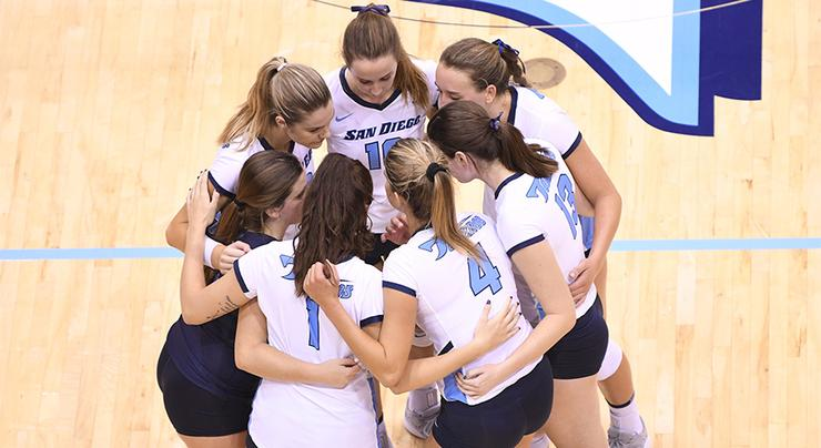 The USD women's volleyball team has earned an at-large berth into the NCAA Tournament. They'll face Cal Poly Friday at USC's Galen Center in a first-round match.