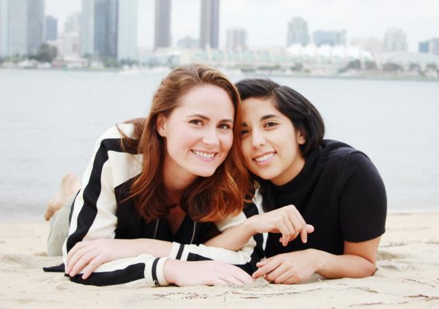 Andrea Medina and Molly Patrick