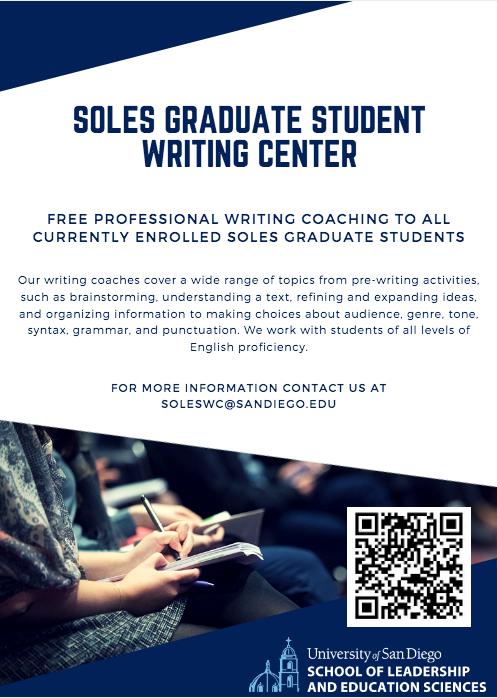 SOLES Graduate Writing Center
