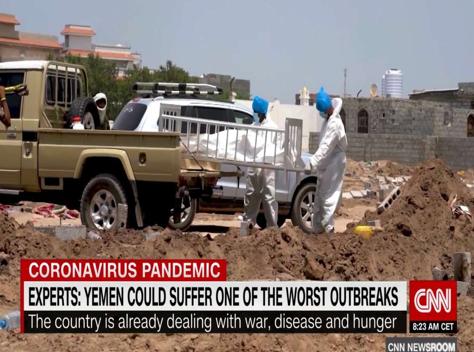 Yemen COVID news report
