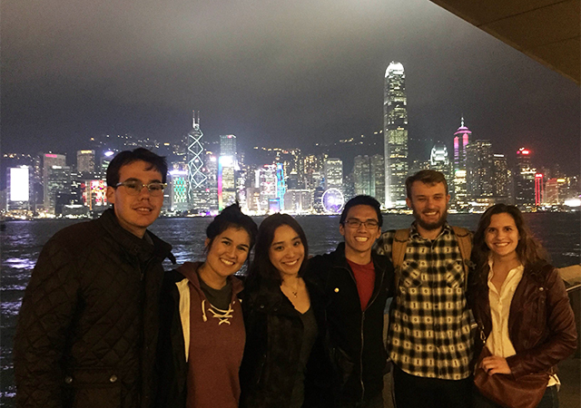 Hong Kong Intersession students