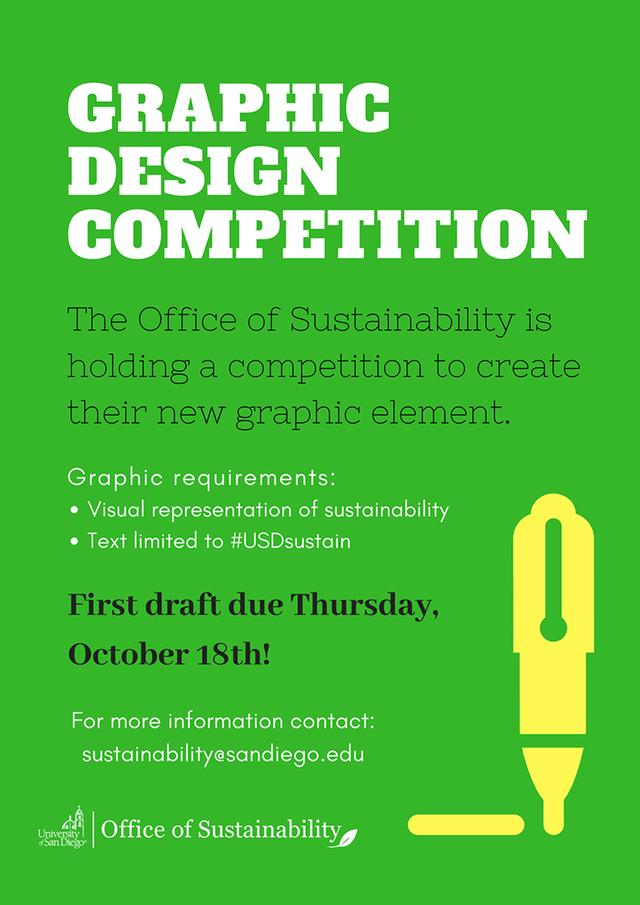 graphic design competition flyer