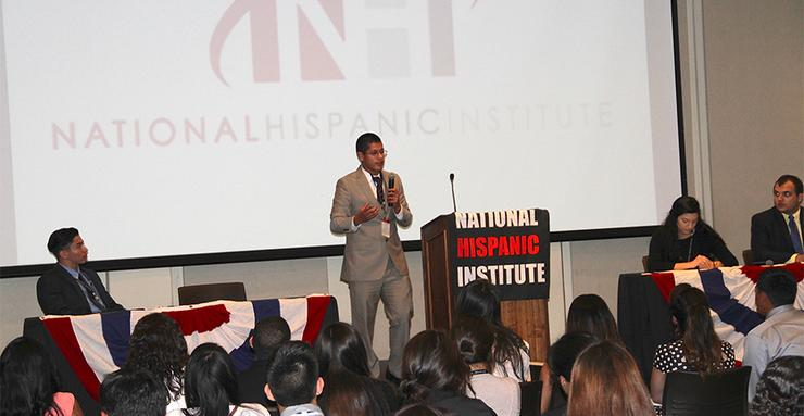 The National Hispanic Institute has chosen USD as its College of the Year award recipient. USD has been one of six host sites for NHI's Lorenzo de Zavala (LDZ) Youth Legislative Session, since 2014.