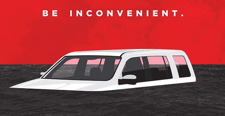 inconvenient sequel car underwater