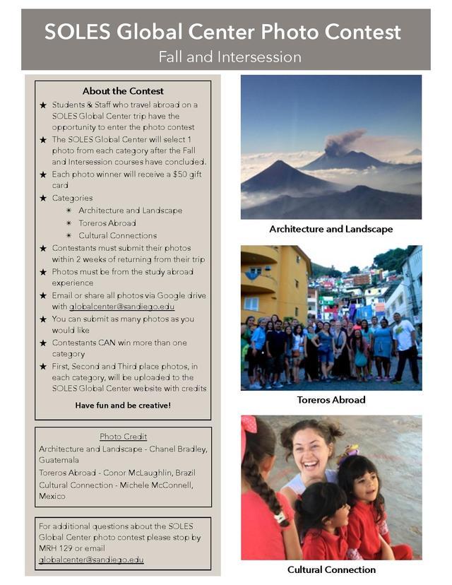Photo Contest Flyer