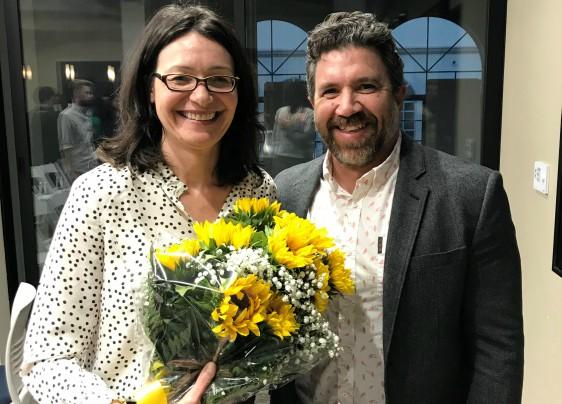 Halina Duraj, and Brad Melekian
